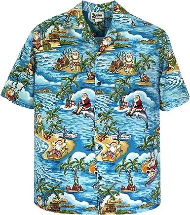 Funky Hawaiian Shirt Dolphin Green
