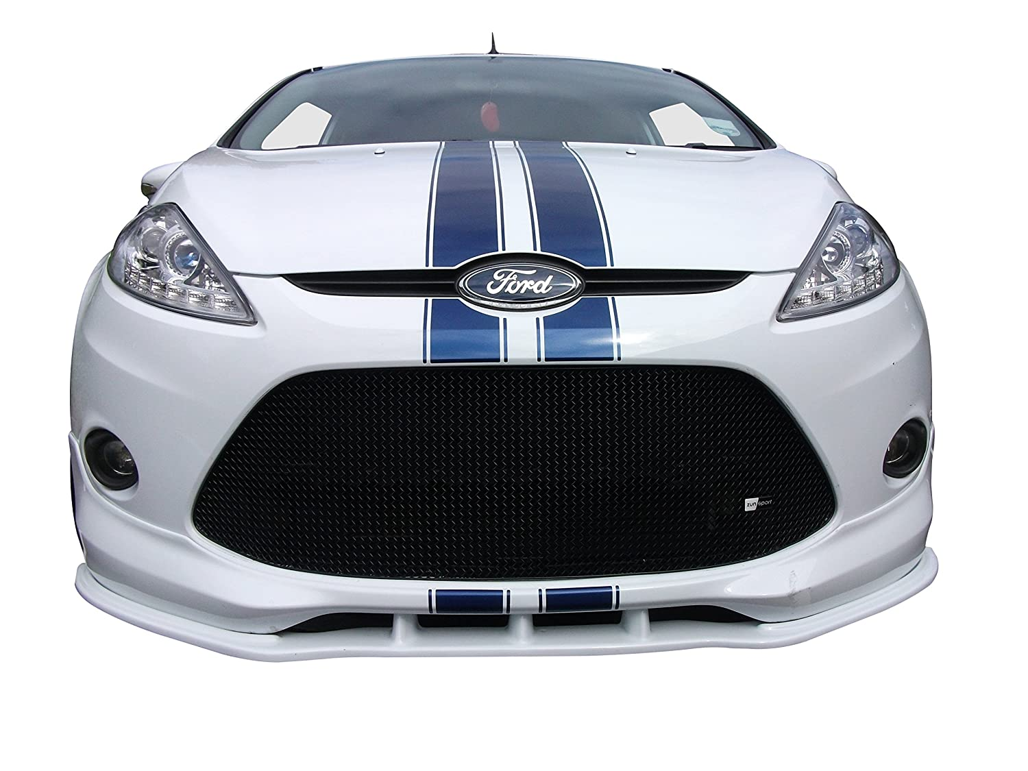 2009 to 2012 without Number Plate - Black finish Front Lower Grille