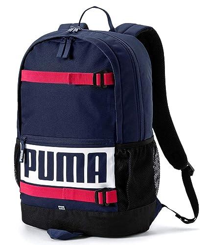 00f7102c11 PUMA Deck Backpack Peacoat  Amazon.co.uk  Shoes   Bags
