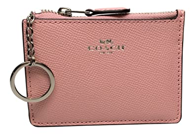 Image Unavailable. Image not available for. Color  Coach Mini Skinny ID  Case in Crossgrain Leather ... 819a505a70557