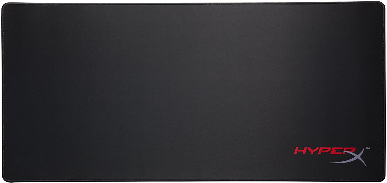 HyperX FURY S - Pro Gaming Mouse Pad, Cloth Surface Optimized for Precision, Stitched Anti-Fray Edges, X-Large 900x420x4mm (HX-MPFS-XL)