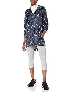Joules Women/'s Golightly Slvpflr Raincoat 14