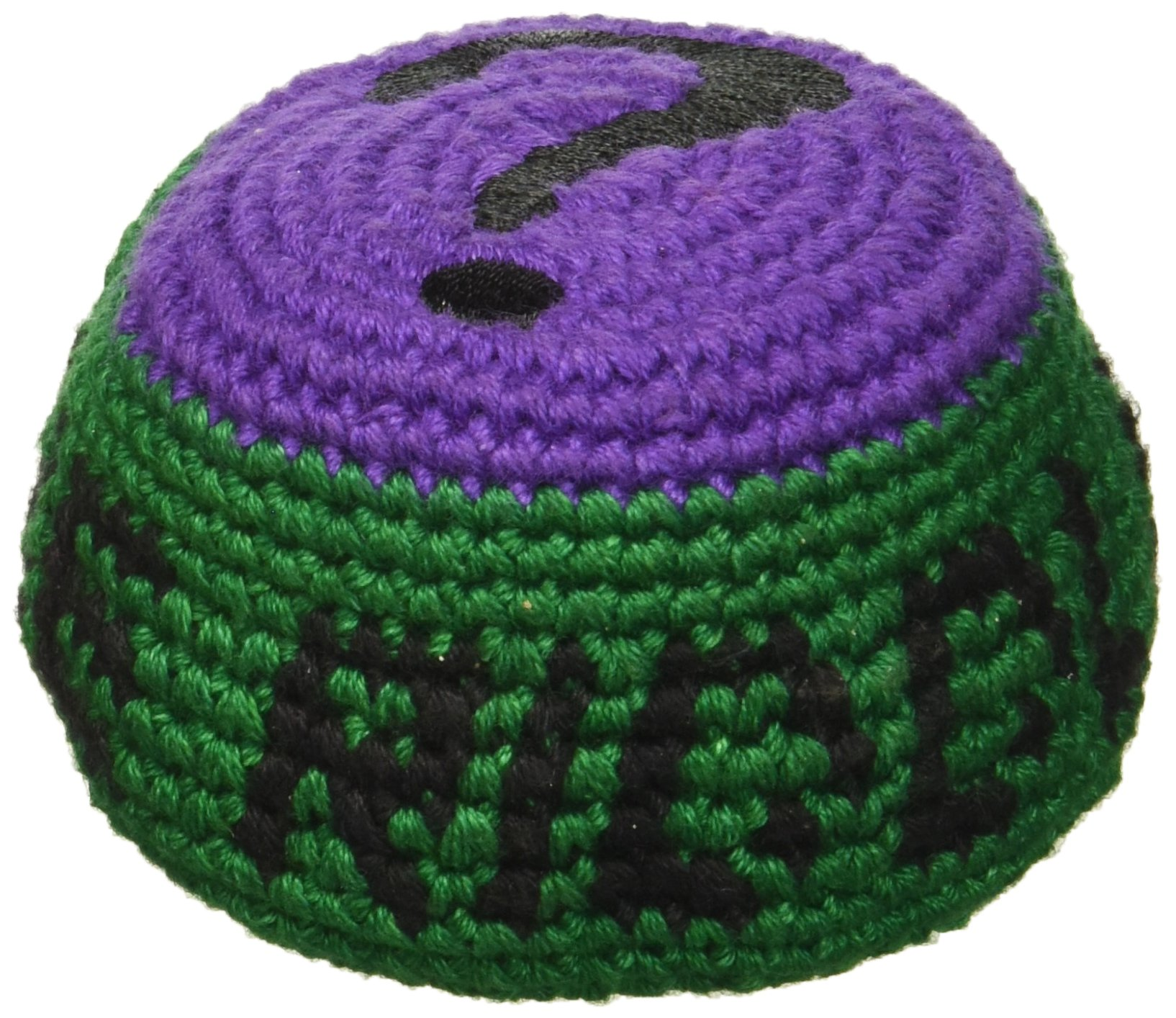 Batman The Riddler Embroidered Crocheted Footbag