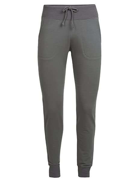check out new high detailed pictures Icebreaker Merino Women's Mira Sweatpants, Soft & Lightweight Merino Wool  Blend