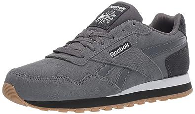 9078e3d1af9 Reebok Men s Classic Harman Run Sneaker Cold Grey White Gum 3.5 ...
