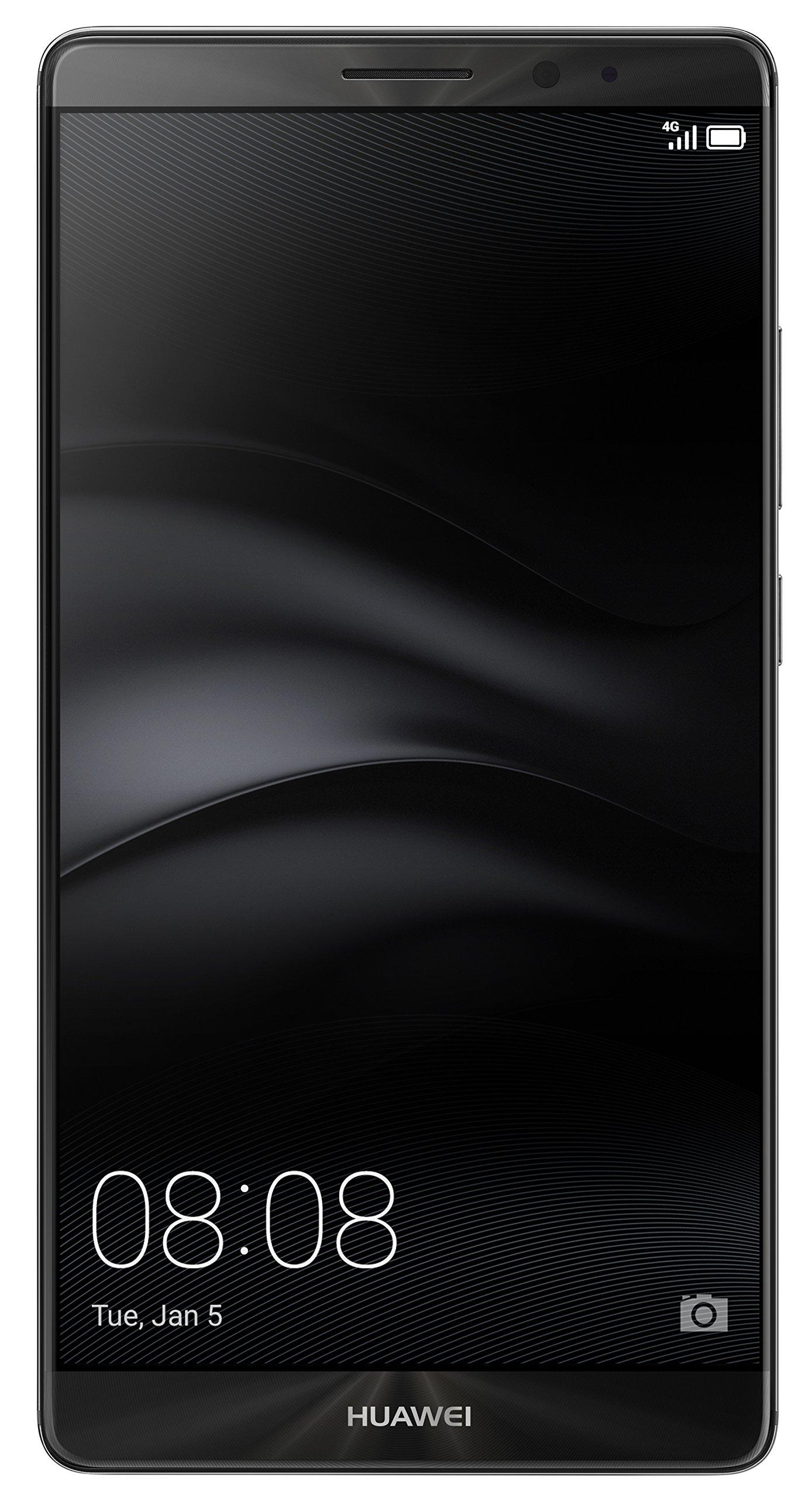 Huawei Mate 8 NXT-L29 32GB Dual SIM Factory Unlocked GSM Smartphone - International Version, No Warranty (Grey)