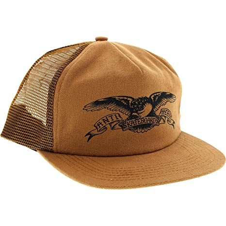 5f9422be340 Image Unavailable. Image not available for. Color  Anti Hero Skateboards  Basic Eagle Brown Mesh Trucker Hat - Adjustable