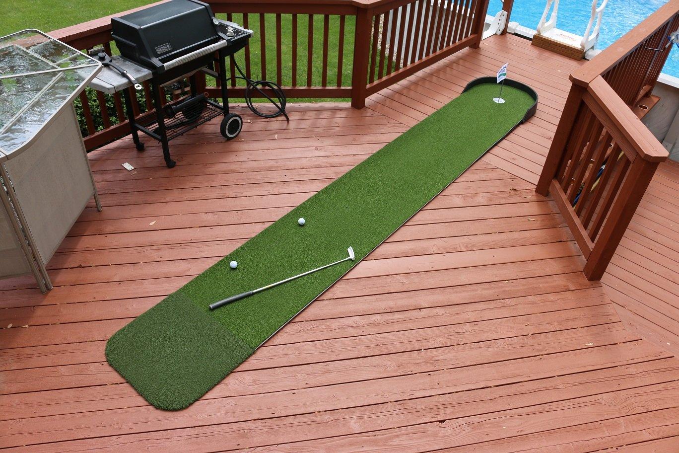 Big MossゴルフCommander 3 ' x 15 ' Practice Putting Chipping Greenインドア/アウトドア   B077BPXK72