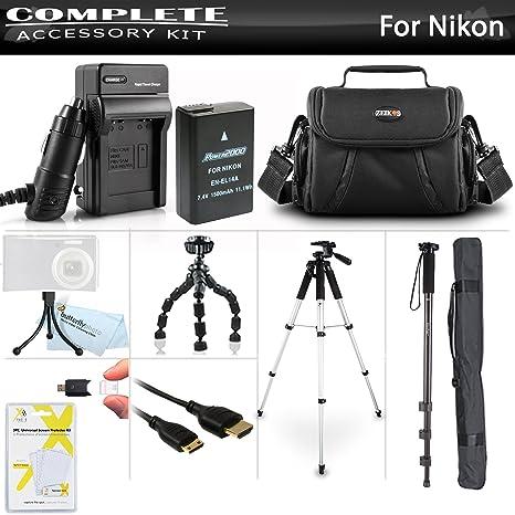 Avanzado Kit De Accesorios Para Nikon D3400, D5500, D5200, D5300 ...