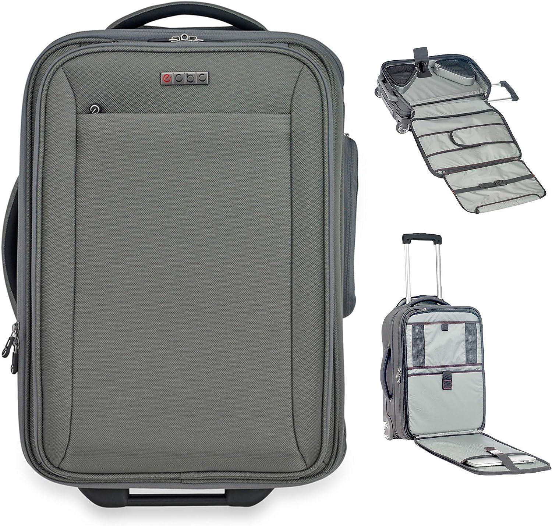 "ECBC 22 inch Sparrow II Wheeled Garment Bag | TSA-approved FastPass 16"" Pocket"