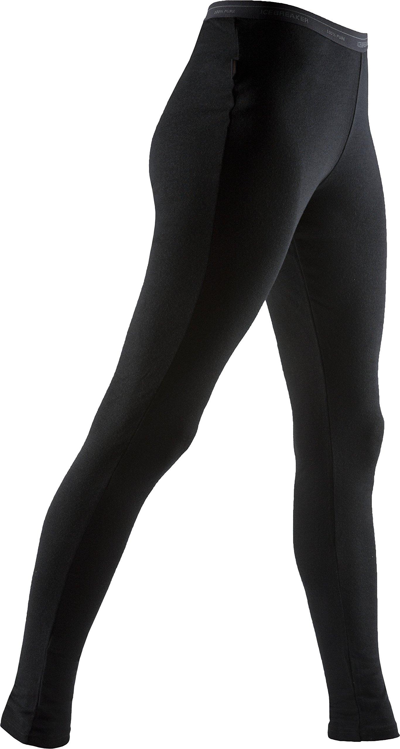 Icebreaker Merino Women's Everyday Leggings, Black, Medium