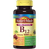 Nature Made Vitamin B-12 1000 MCG Sublingual, 50 Count
