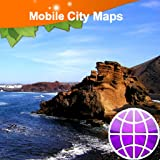 Lanzarote, Fuertaventura Street Map