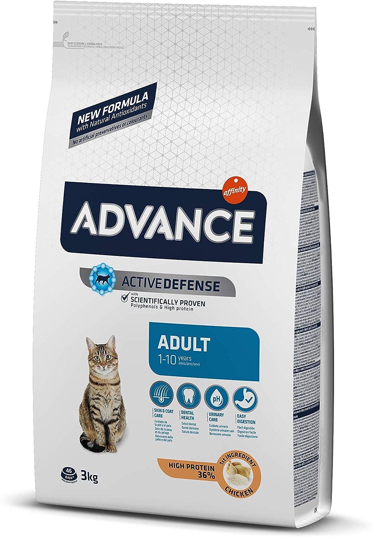 Advance Pienso para Gato Adulto con Pollo y Arroz - 3000 gr