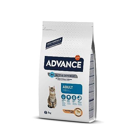 Advance Pienso para Gato Adulto con Pollo y Arroz - 3000 gr ...