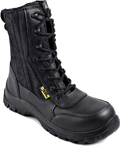Stivali sicurezza - esercito- polizia - black hammer 9999