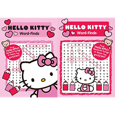 SANRIO Kappa Publication 3160 Hello Kitty Word-Find Pack: Toys & Games