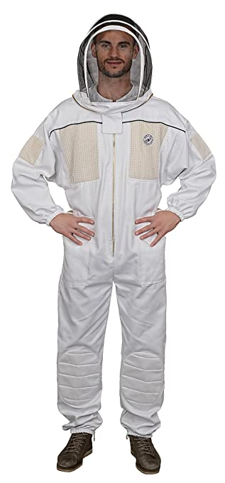 Humble Bee 431-XXS Ventilated Beekeeping Suit with Fencing Veil (XX Small)