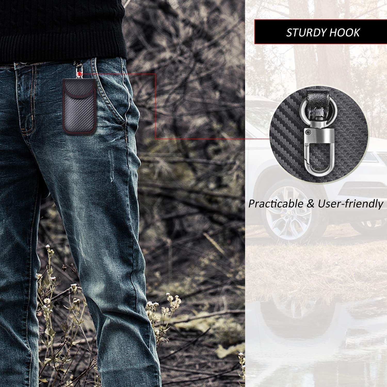 Todoxi Faraday Schlüsselanhänger Schutz Faraday Elektronik