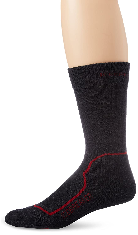 Icebreaker Men's Hike Plus Lite Crew Socks