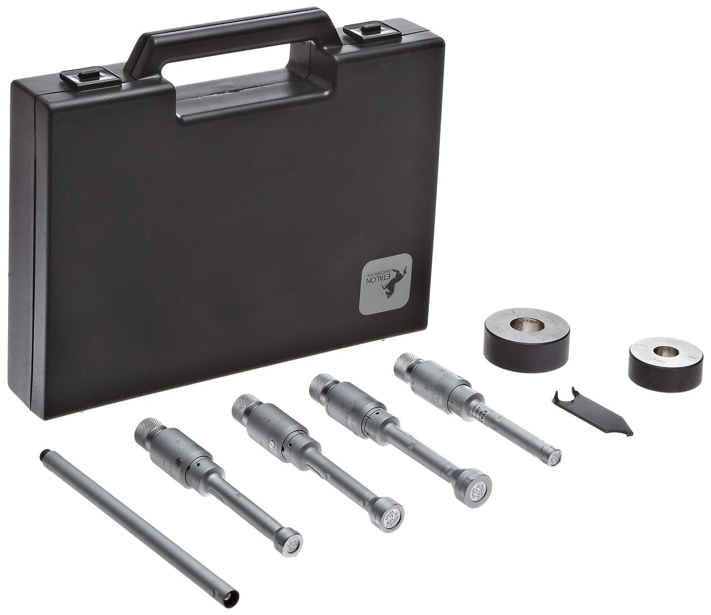 Brown /& Sharpe TESA 78.110602 Etalon Intalometer 531 Vernier Inside Micrometer Set 0.396-0.804 Range 7 Piece Set +//-0.00007 Accuracy 0.0001 Graduation