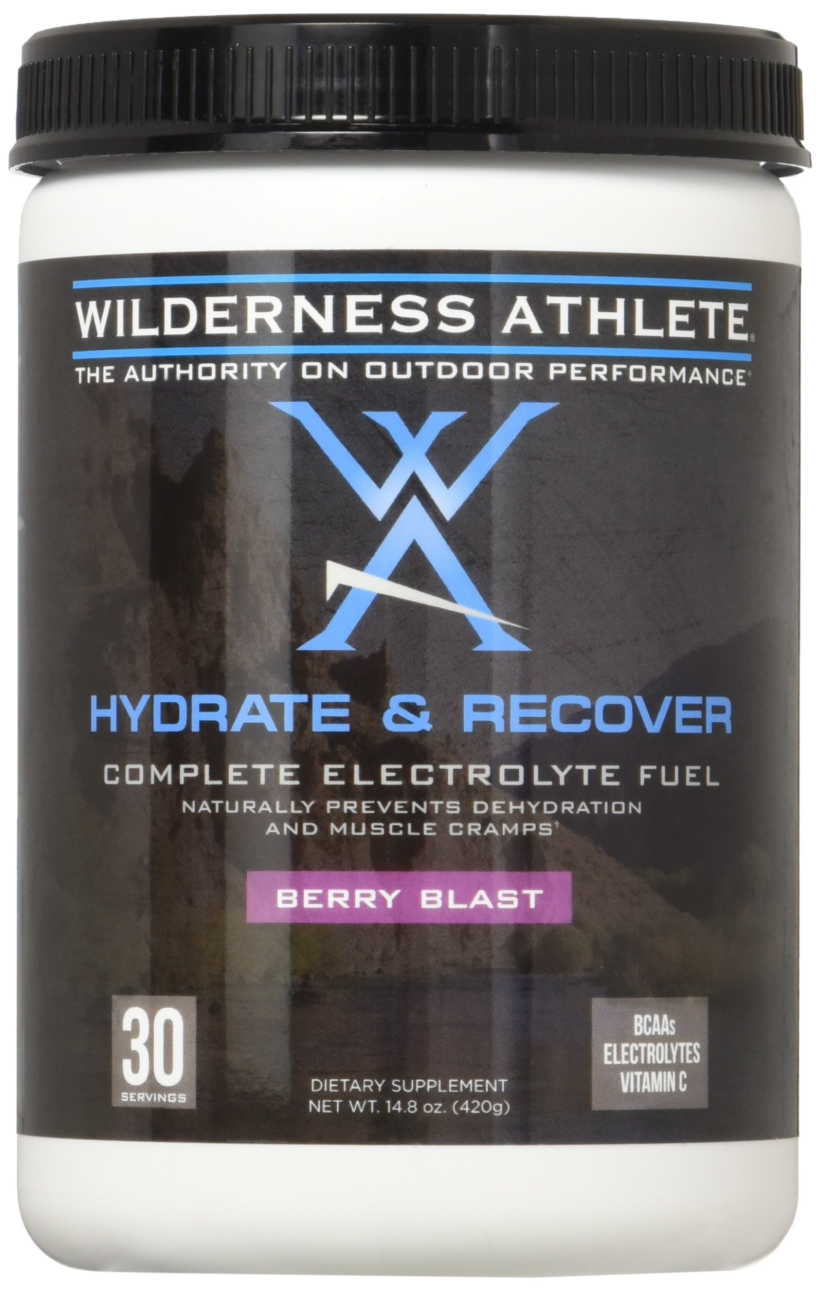 Wilderness Athlete Hydrate & Recover, Berry Blast, 14.8 Ounce
