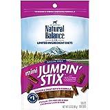 Natural Balance L.I.D. Limited Ingredient Diets Mini Jumpin' Stix Adult Dog Treats, Grain-Free