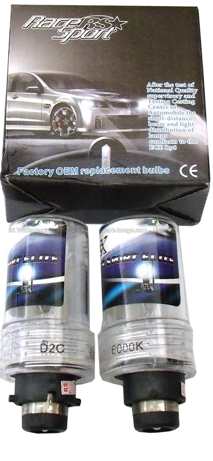 Race Sport RS-D28K-RB D2 OEM Factory HID Replacement Bulb Professional 3yr