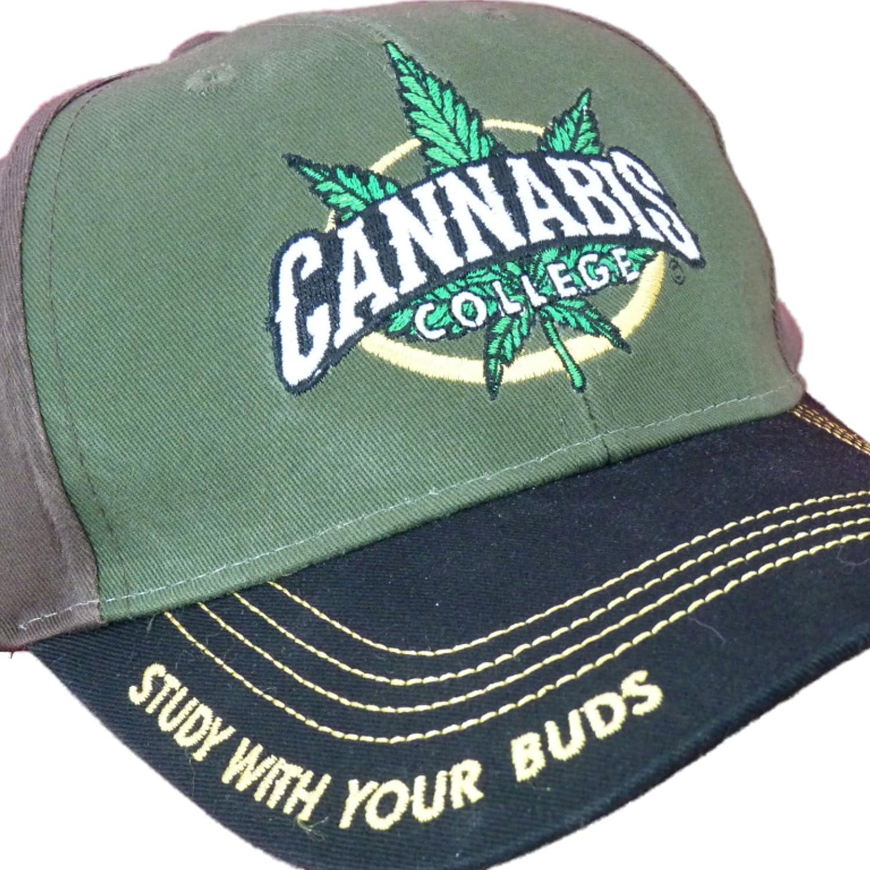 Capsmith Cannabis 420 Marijuana Themed Ball Cap Hats (One Size ... 79e7e11a5d15