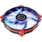 Thermaltake Luna 20 LED Silent Fan Cooling CL-F024-PL20BU-A, Blue