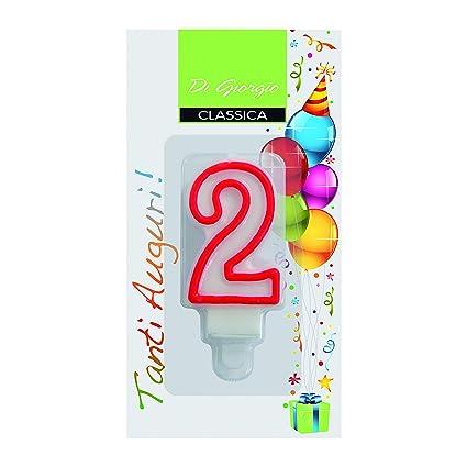Cereria de Giorgio 56120 _ 62 vela de cumpleaños número 2 ...