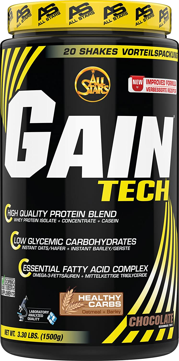 All Stars Gain Tech Chocolate - 1500 gr: Amazon.es: Salud y cuidado personal