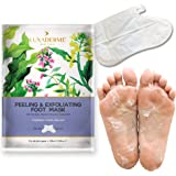 LuxaDerme Peeling and Exfoliating Foot Mask