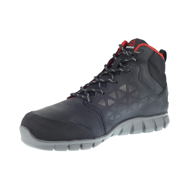 REEBOK WORK IB1037S3 45 Excel Light - Botas de seguridad para hombre (aluminio, talla 45), color negro: Amazon.es: Industria, empresas y ciencia