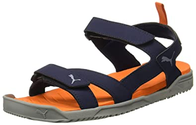 047afa01bcc6 Puma Men s Prime Idp Black and Dark Shadow Athletic   Outdoor Sandals - 7  UK India (40.5 EU) (36488902)  Buy Online at Low Prices in India - Amazon.in