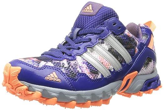 Good Womens Shoes adidas Running Thrasher 1.1 W Amazon Purple/Silver Metallic/Flash Orange