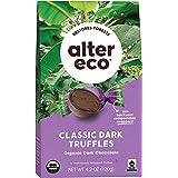 Alter Eco  Classic Dark Chocolate Truffles   Pure Dark Cocoa, Fair Trade, Organic, Non-GMO, Gluten Free (10 Count (Pack of 1)