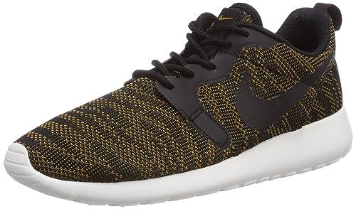 quality design 58256 647cf Nike - Roshe Run Knit Jacquard, Sneakers da Donna, Marrone (Bronzine Schwarz