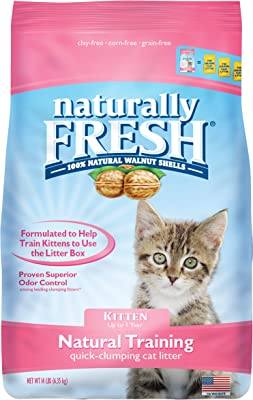 Naturally Fresh Walnut-Based Kitten Training Litter