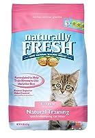 Naturally Fresh Cat Litter - Walnut-Based Quick-Clumping Kitty Litter, Kitten Training Litter, Unscented