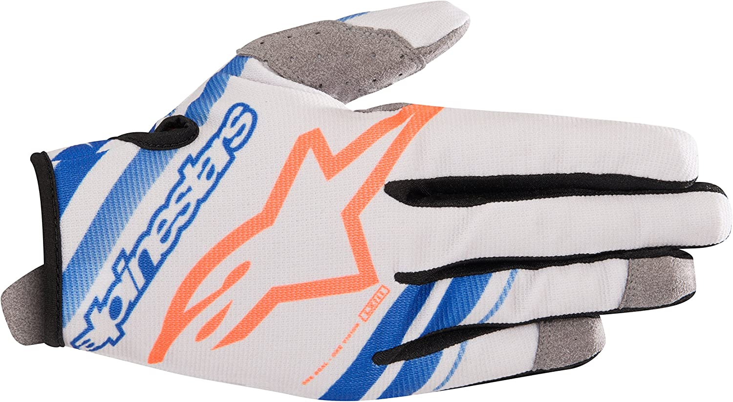 Alpinestars Yellow-Fluorescent-Grey 2019 Radar MX Gloves