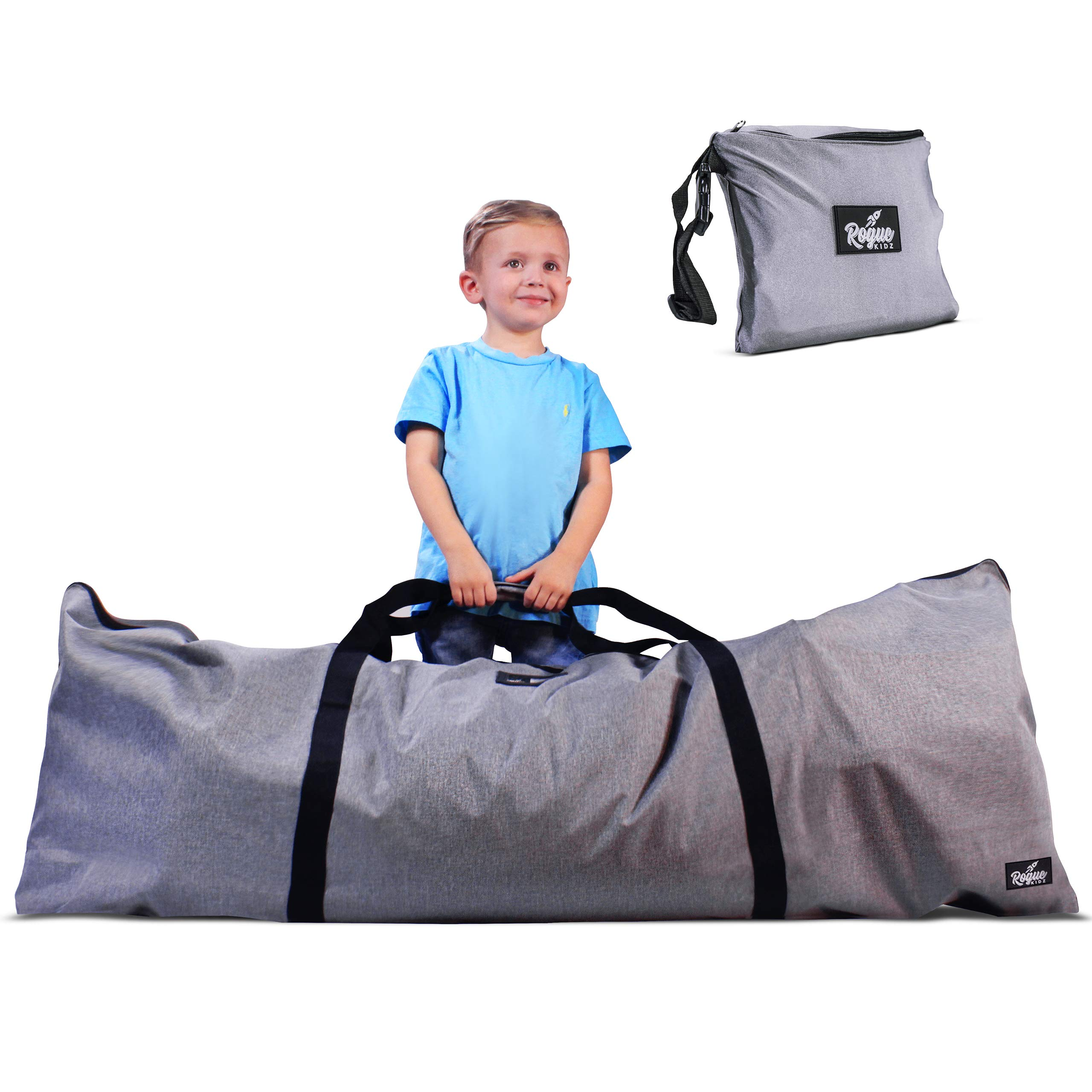 Rogue Kidz Umbrella Stroller Travel Bag And Playmat For Airplane Gate Check- Durable And Waterproof For Travelling With Toddlers And Babies by Rogue Kidz