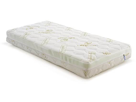 colchón de cuna, bionatural lenpur, 63 x 123 x 12 cm de quesibimbi®: Amazon.es: Bebé