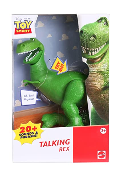 Toy Story Disney Talking Rex Figure 6a3d0e3d917
