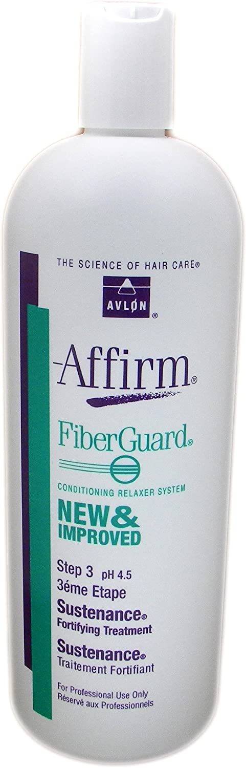 Affirm FiberGuard Sustenance Fortifying Treatment Avlon 32 oz Treatment For Unisex by Avlon Hair Care