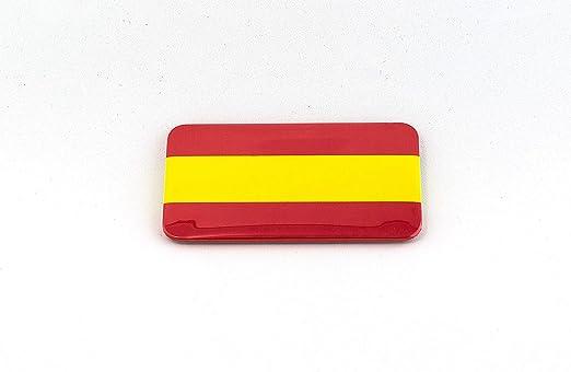 Chapas con la bandera española con imán en la parte trasera ...