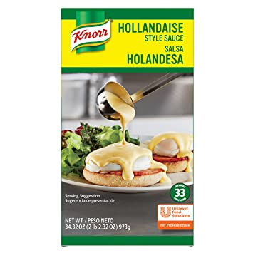Knorr Sauce Liquid Hollandaise 34.32 oz, Pack of 6