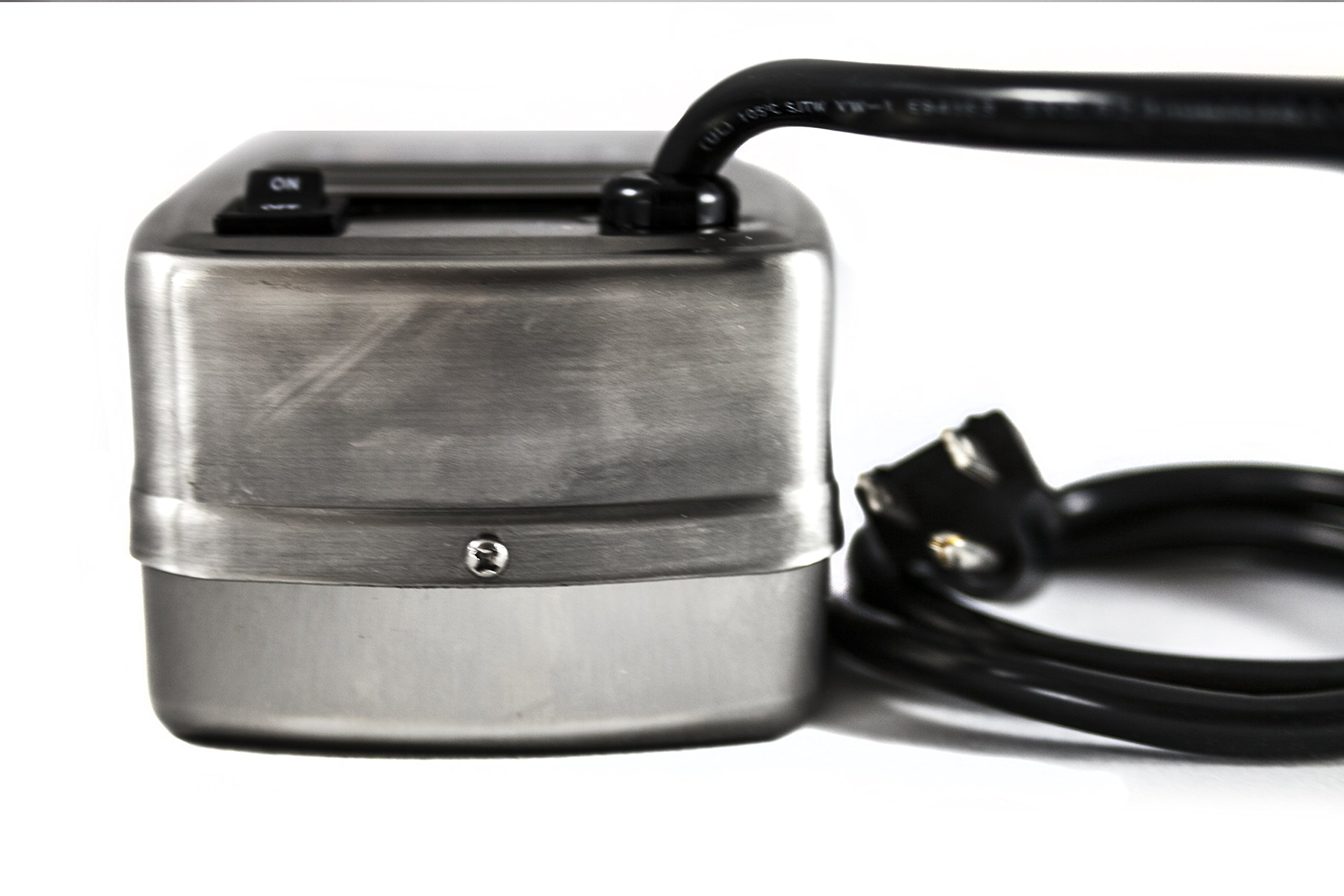 OneGrill Universal Replacement Upgrade Stainless Steel Grill Rotisserie Motor 13 watt 50 lb. Load by OneGrill BBQ Products