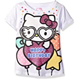 Hello Kitty Girls' Happy Birthday Tee