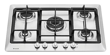 Nardi VG55EAVX.A000 Piano Cottura da Incasso: Amazon.it: Casa e cucina